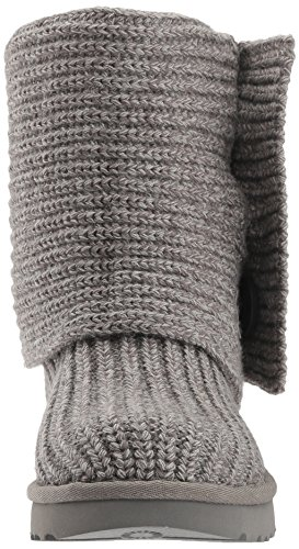 UGG Women's Classic Cardy Winter Boot, Grey, 8 B US by UGG (Image #4)