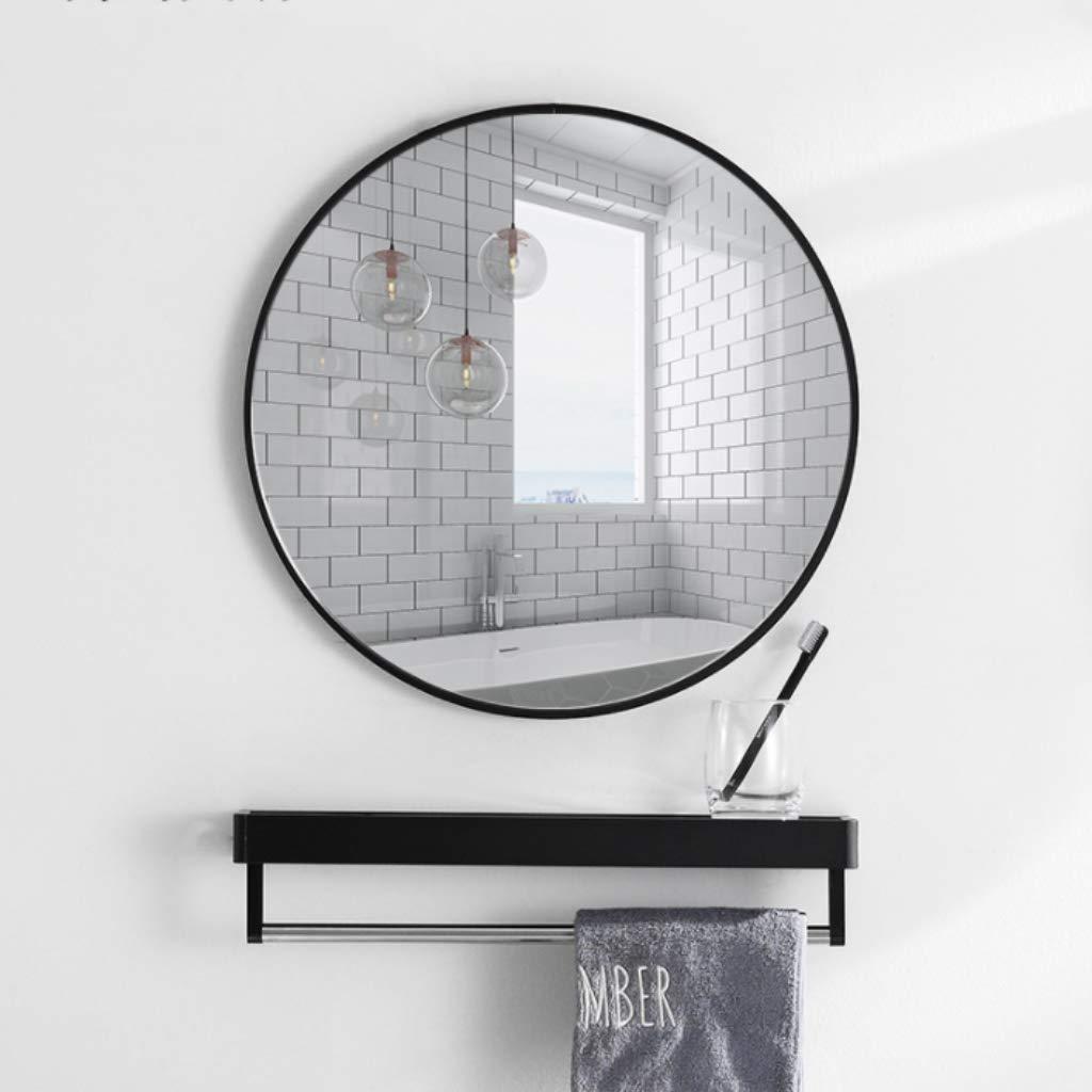 Large Wall Mirror Circle Bathroom Bedroom Living Room Vanity Hallway Mirror Wall Mount 15.7-31.5