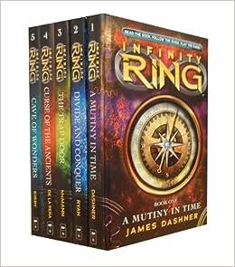 Infinity Ring 5 Book Set James Dashner Collection (A ... Infinity Ring Book Series