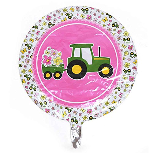 Party Destination - John Deere Pink Foil Balloon