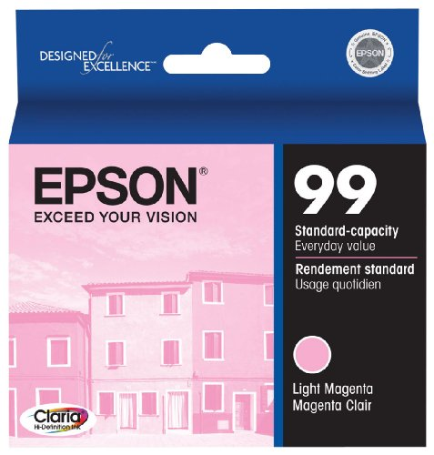 Epson Claria Hi-Definition 99 Standard-capacity Inkjet Cartridge Light Magenta - Ink 99 Light