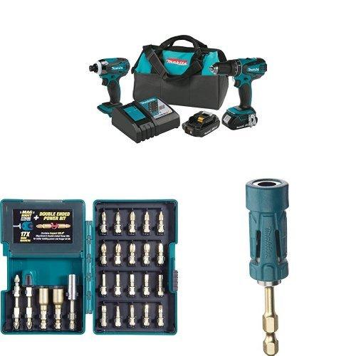 Makita XT273R 18V LXT Lithium-Ion Compact Cordless 2-Pc. Combo Kit (2.0Ah),