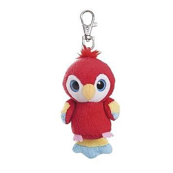 485cd52172d Aurora World 3-Inch Yoohoo and Friends Lora Scarlet Macaw Mini Key Clip
