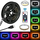led accent lighting kit - LED Strip Lights, USB TV Backlight Kit RGB Bias Lighting with Remote(78inch/2m), Ambient Home Theater Light, Accent Lighting to Reduce Eye Strain and Increase Image Clarity