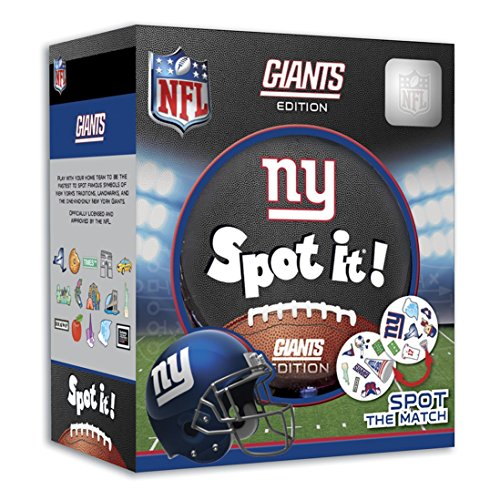 - MasterPieces NFL New York Giants Spot It! Card Game