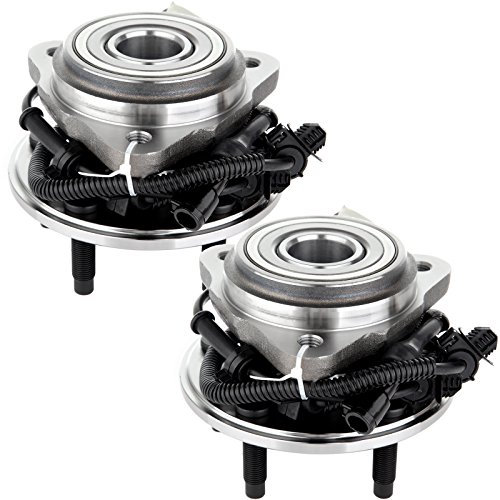 Ford Ranger Wheel Bearing - SCITOO Compatible with Pair of 2 New Front Wheel Hub Bearing Assembly fit Ford Ranger Mazda Mercury 4WD ABS