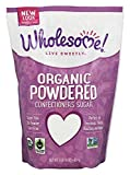 Wholesome Sweeteners Fair Trade Org Powdered SugarPouches - 16 oz
