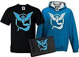 Bullshirt's Kid's Deluxe Team Mystic T-Shirt, Contrast Hoodie & Wallet Set 3-4