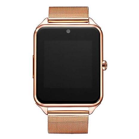 SZPZC Reloj Bluetooth Smart Watch Z60 Hombre Mujer Reloj ...