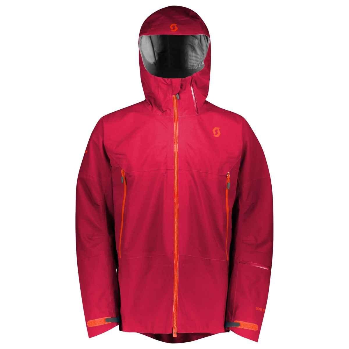 スコットVerticツアーフード付きジャケット – メンズ B076JF9KQ7  ロイヤルレッド (Royal Red)  Small