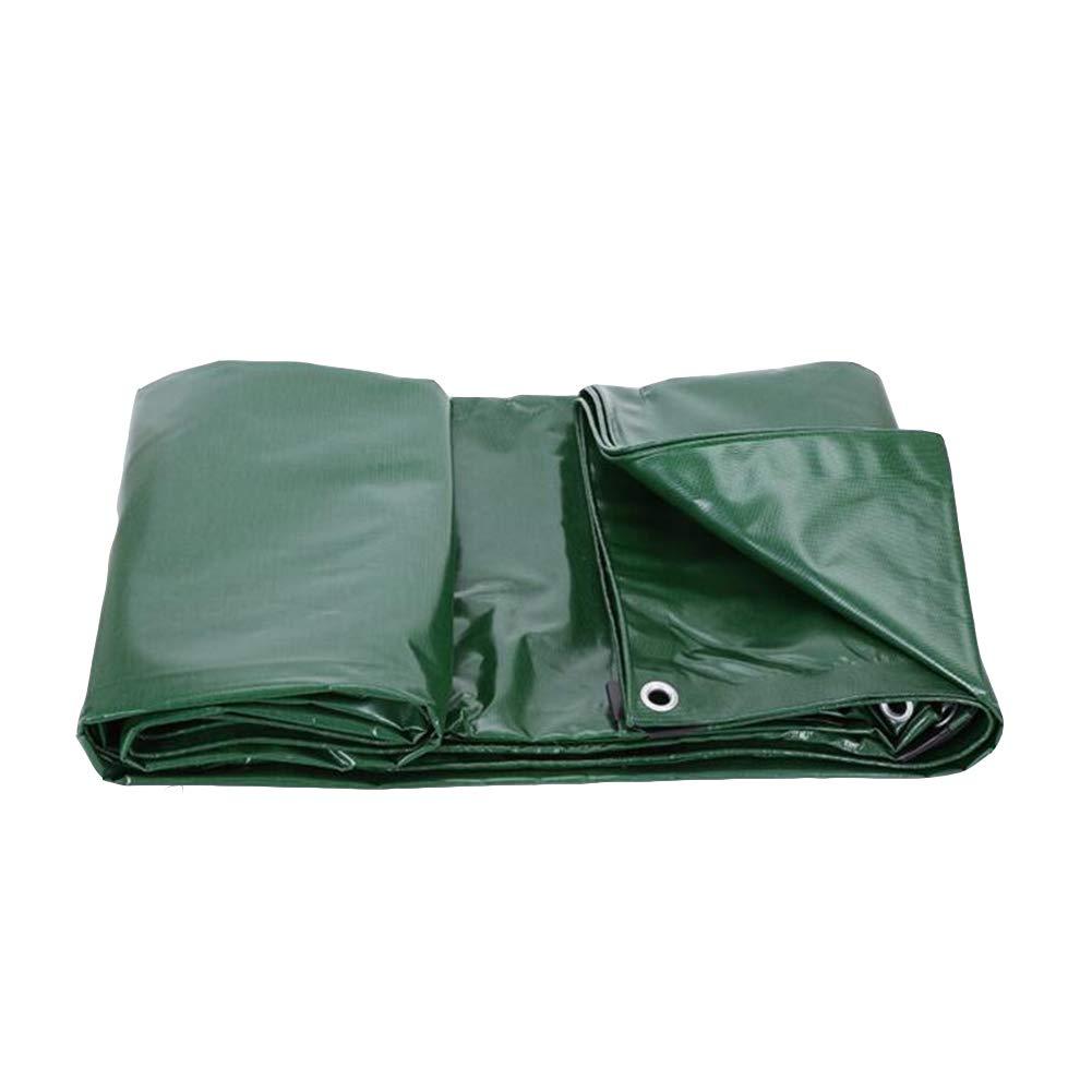 DALL ターポリン タープ 防水 日焼け止め サンシェード アウトドア 厚い ウェアラブル 耐寒性 断熱された (色 : Green, サイズ さいず : 3*5m) 3*5m Green B07KP141Q5