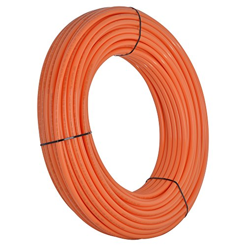 Barrier Oxygen Tubing (SharkBite Oxygen Barrier PEX Pipe 1/2 Inch, Orange Heat Radiant Barrier Tubing, U860O300, 300 Foot Coil)