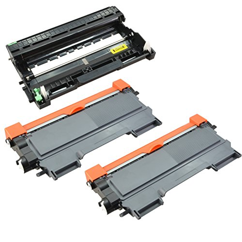Sotek TN450 Toner Cartridges & DR420 Drum Unit (2 X Toner+ 1 X Drum Unit),Compatible with Brother HL-2270DW HL-2280DW HL-2230 HL-2240D HL-2240 MFC-7860DW MFC-7360N MFC-7460DN DCP-7065DN Printers