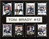 NFL Tom Brady New England Patriots 8 Card Plaque