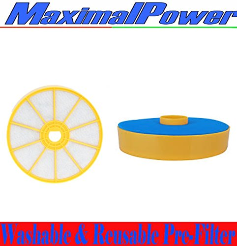 MaximalPower Dyson DC-07 Washable & Reusable Pre-Filter, Replaces Dyson DC07 Pre-Motor Filter Part # 904979-02 (90497902) (Buy 1 Filter)