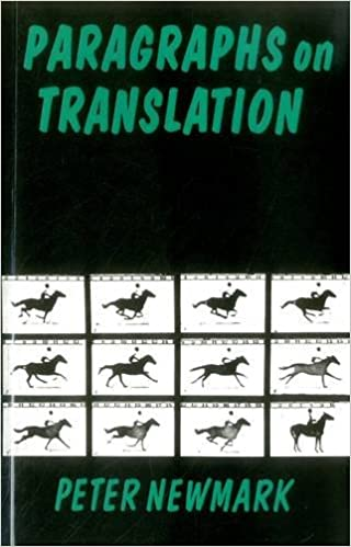 paragraphs on translation topics in translation amazoncouk peter newmark newmark 9781853591914 books