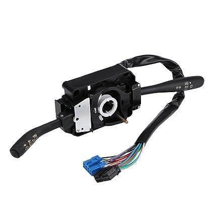 Keenso Isuzu Npr Combination Switch, Combination Light Switch Wiper Control  Combination Switch for Isuzu NPR NPR NQR GMC 8973640740