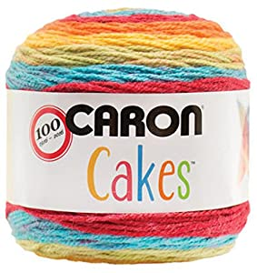 Caron Cakes Self Striping Yarn 383 yd 200 g