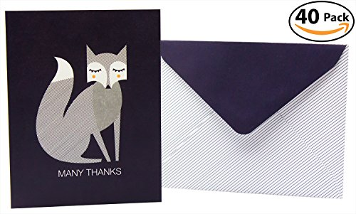 eco-friendly-arctic-fox-thank-you-cards-40-pack-printed-on-fsc-certified-paper-with-soy-ink-dark-blu