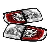 Spyder Mazda 3 03-08 4Dr Sedan ( Non Hatchback ) LED Tail Lights - Red Clear