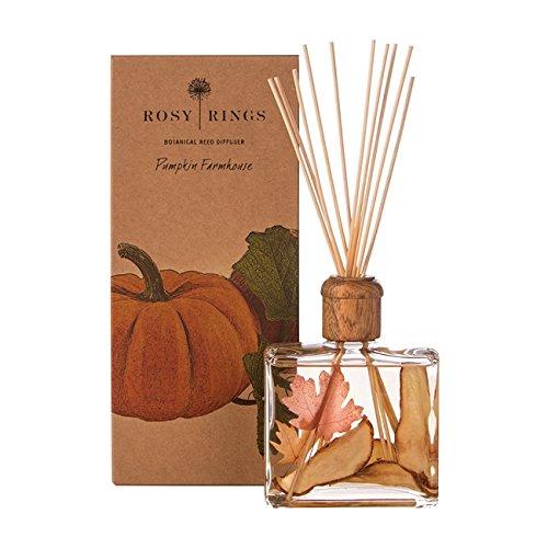 Rosy Rings brd-pfh Reed Diffuser, Pumpkin Farmhouse