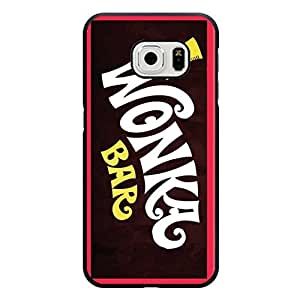 Hot Willy Wonka Phone Case Cover For Samsung Galaxy s6 Edge Chocolate Bar Fashionable