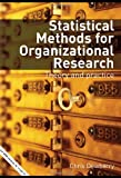 Statistical Methods for Organizational Research, Chris Dewberry, 041533425X