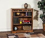 Sunny Designs 2952RO-36 Sedona Height Bookcase, 36''