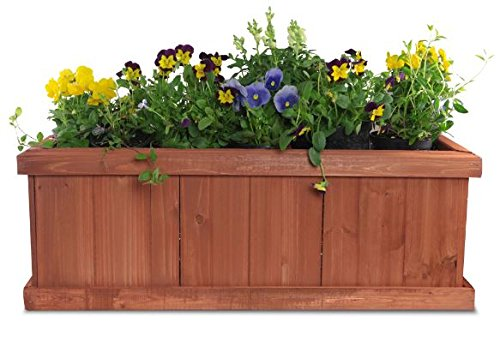 Pennington Decor Matthews Planter Box 40 Inch Large Import It All