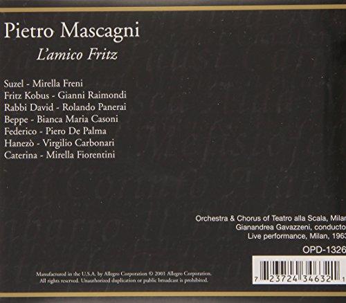 L'Amico Fritz by Opera D'Oro (Image #1)
