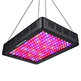 2000W LED Grow Light, Growstar Double Chips LED Grow Lamp Full Spectrum for Hydroponic Indoor Plants Flower and Veg with Daisy Chain (12-Band)