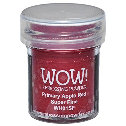 Wow Embossing Powder WOW Embossing Powder, 15ml, Primary Apple Red