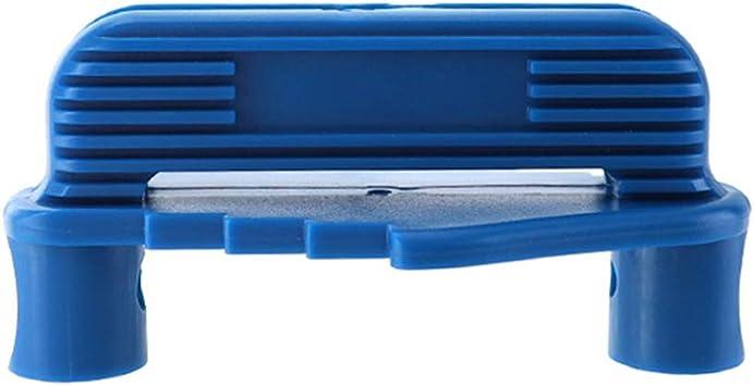 Blue Quaanti Center Scriber,Rockler Centre Offset Marking Tool,Marking Center Finder Centering Scriber,Marking Center Gauge Fits Standard Wooden Pencils Marking Tool Positioning Measuring Ruler