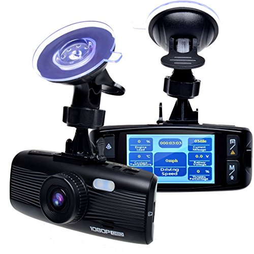 Dashboard Diagnosis Detection Recording G Sensor product image