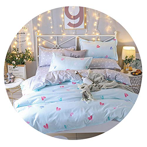 Blue Stor Fashion Printed Dotted Dotted Bedding Quality Family Adult Children