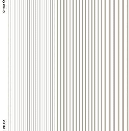 Woodland Scenics Dry Transfer Decals Stripes White by Woodland Scenics
