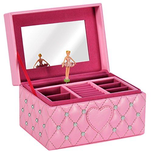 The best jewelry box for little girls 2018 star product for Amazon ballerina musical jewelry box