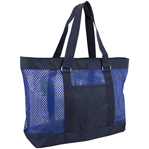 eastsport-mesh-tote-beach-bag-navy-blue