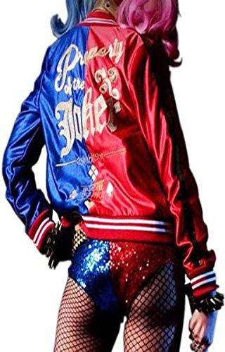 Harley Quinn Womens Costume Jacket - Stock Clearance (Harley Quinn Costume Teen)