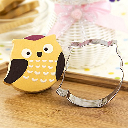 GXHUANG Cookie Cutter- Stainless Steel (Owl), for Anniversary Birthday Wedding Theme Party