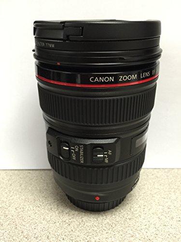 Canon EF 24   105 mm f / 4 L IS USMレンズ(ホワイトボックス) + SSEレンズアクセサリキットfor Canon 6d 5d Mark II 5d Mark III sl1 t5i t5 t4i t3i t3 60d 70d t2i t1i XSI XS DSLRカメラ