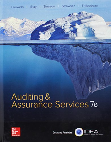 Auditing And Assurance Services With Connect Access Code