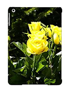 Case For Ipad Air Tpu Phone Case Cover(yellow Roses ) For Thanksgiving Day's Gift