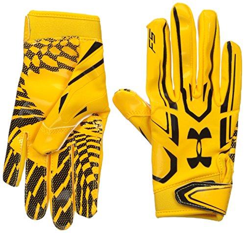 Under Armour Boys' Youth F5 Football Gloves (Glove Nfl Football)