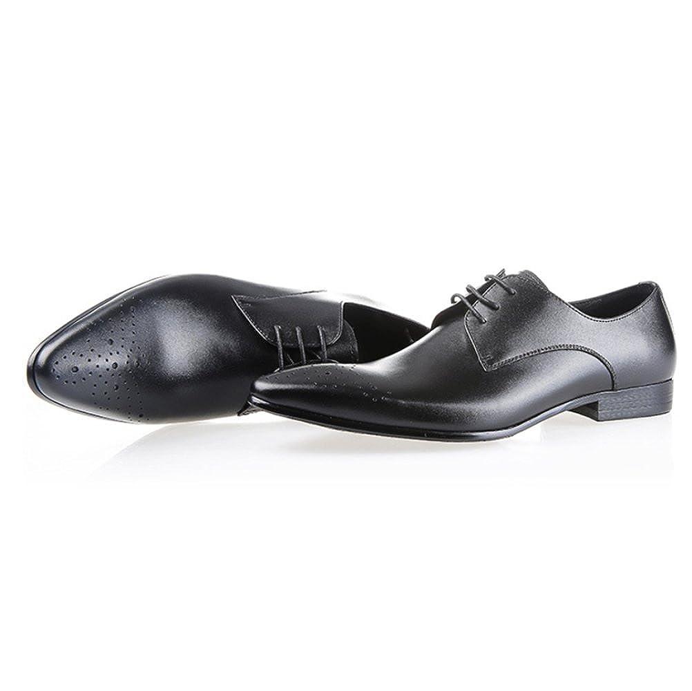 ZPFDY Männer Europa Und Die Vereinigten Staaten Mode Lederschuhe Geschäft Breathable Bankett Casual Spitze Lederschuhe Mode c59313