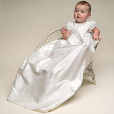0-24 Monate Lang Newborn Festlich Kleid CDE Baby M/ädchen Besticktes Spitzenkleid Taufkleid mit Hut im Set 3 teilig