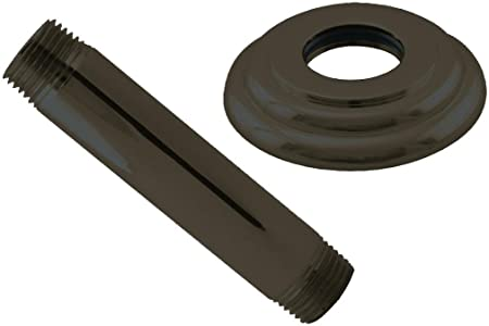 Westbrass 1//2 IPS x 24 Ceiling Mounted Shower Arm with Flange D3624A-12 Oil Rubbed Bronze