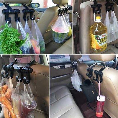 Amazon.com: 1 X Car Seat Back Headrest Dual Holder Hanger ...