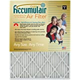 17-1/2x23-1/2x1 (17-1/8x23-1/8) Accumulair Gold Filter MERV 8 4-Pack