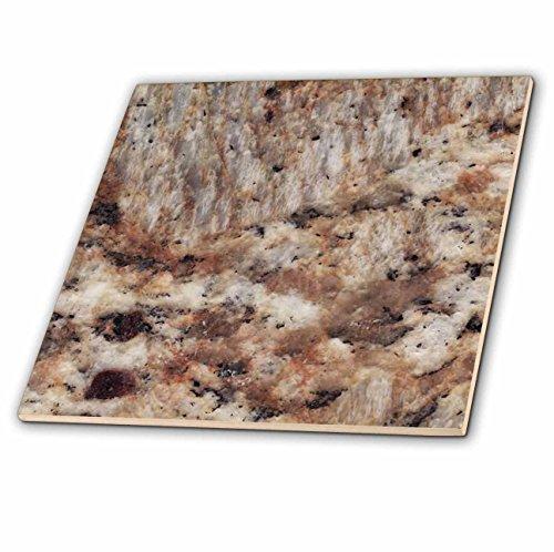 3dRose ct_97963_1 Santa Cecilia Granite Print Ceramic Tile, - Ceramic Tile 4 U Floors